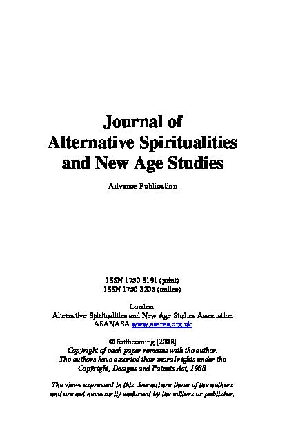 PDF) New Age in South Korea | Hairan Woo - Academia edu