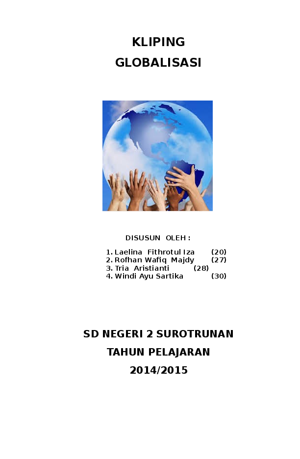 Doc Kliping Globalisasi Mustaqim As Salim Academia Edu