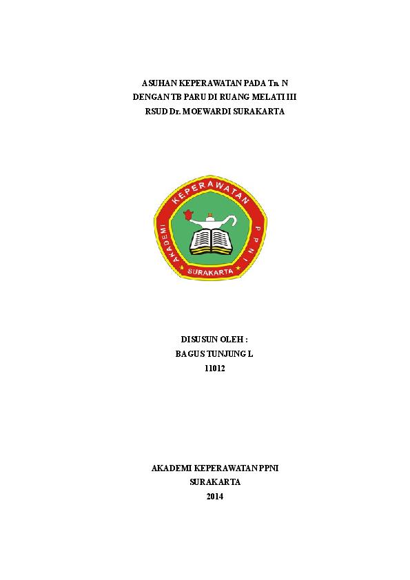 Askep Tb Paru Akper Insan Husada Surakarta Academia Edu