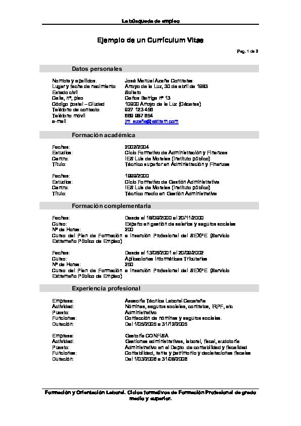 La Búsqueda De Empleo Formación Y Orientación Laboral