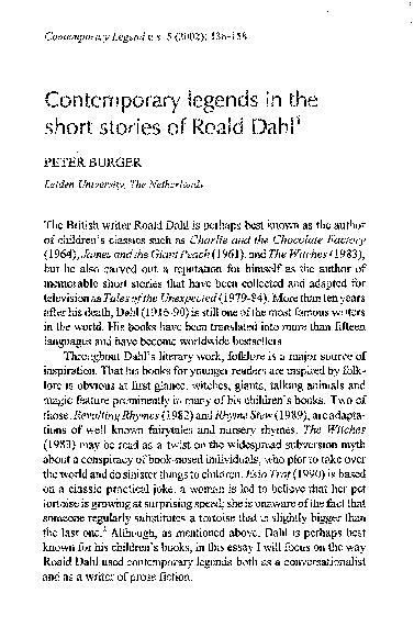 Roald Dahl Revolting Rhymes Pdf