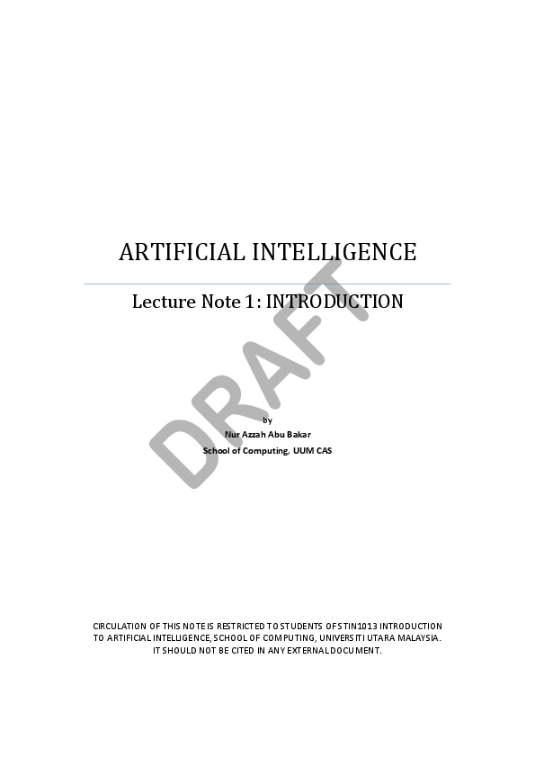 Artificial Intelligence 3rd Edition Winston Pdf