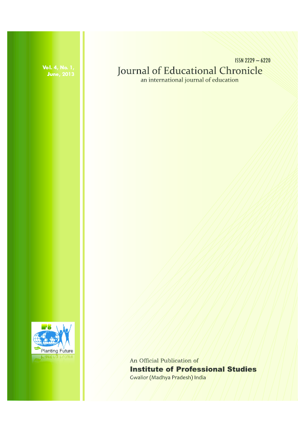 PDF) JEC June 2013 Vol. 4 No. 1.pdf   Journal of Educational ...