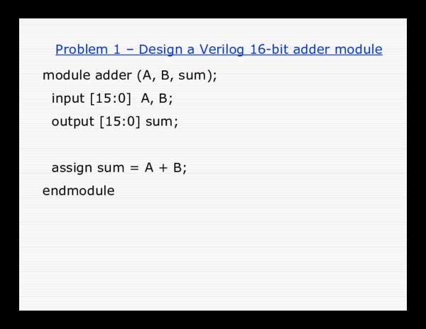 PDF) ALU Design by Verilog HDL | Frank T - Academia edu