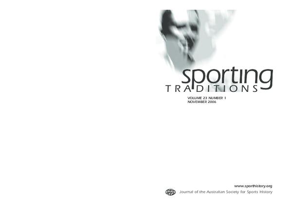 PDF) Sporting Chances: sport on Australian commercial radio