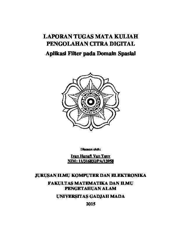 PDF) Filter in Domain Spatial Using Python   Iyan Hanafi van