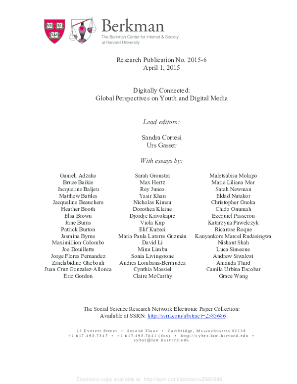 Pdf Networked Margins Revisiting Inequality And
