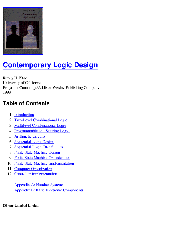 PDF) Contemporary Logic Design (DSD) | Muhammad Asad - Academia edu