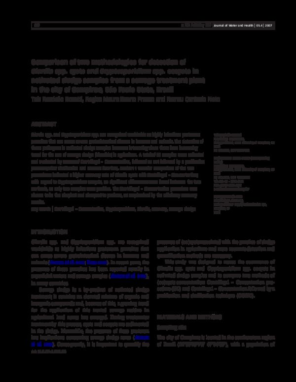giardia o cryptosporidium