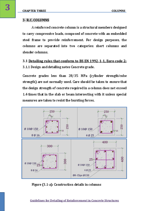 PDF) Guidelines for Detailing of Reinforcement in Concrete