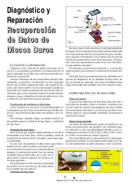 Pdf Diagnóstico Y Rapacion De Disco Duro Frank L