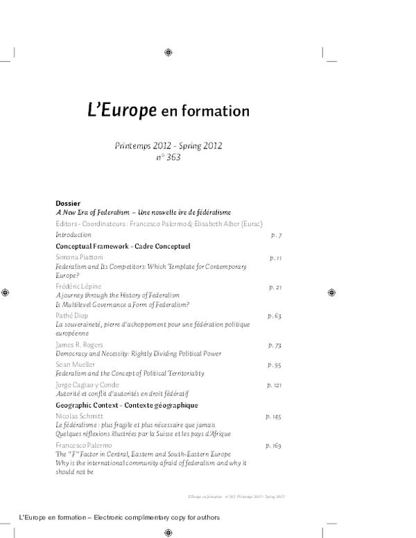 Pdf New Developments In Spanish Federalism Xabier Arzoz