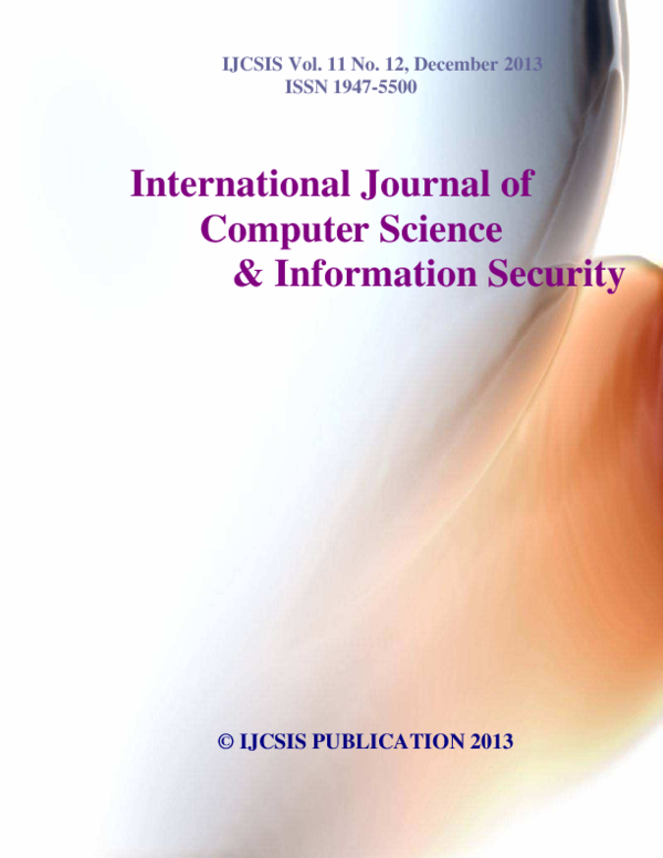 PDF) Journal of Computer Science December 2013 | Journal of