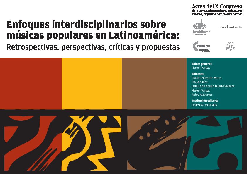 Pdf Aportes Para El Debate Sobre El Jazz En América Latina