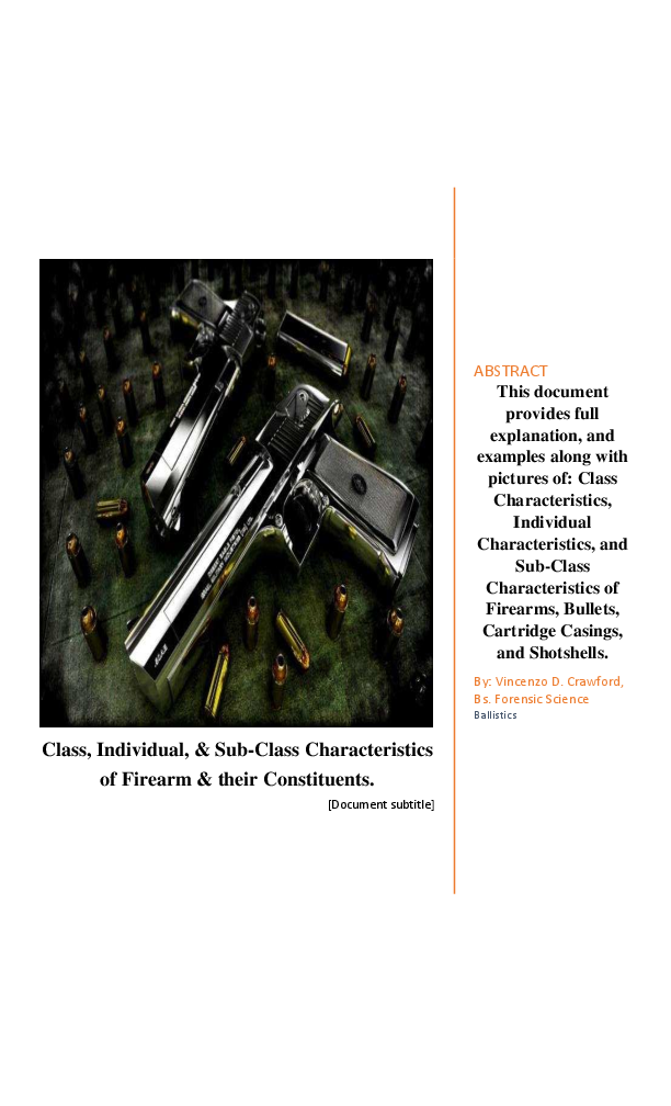 PDF) Class Characteristics, Individual Characteristics