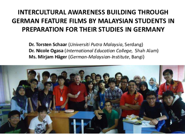 PDF) Intercultural Awareness Building Through German Feature