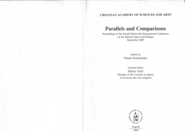 PDF) The Legendary Life of Upamanyu | Christèle Barois