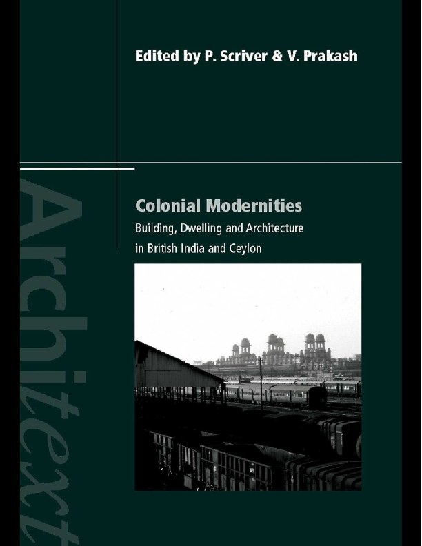 PDF) Colonial Modernities: Building, Dwelling and