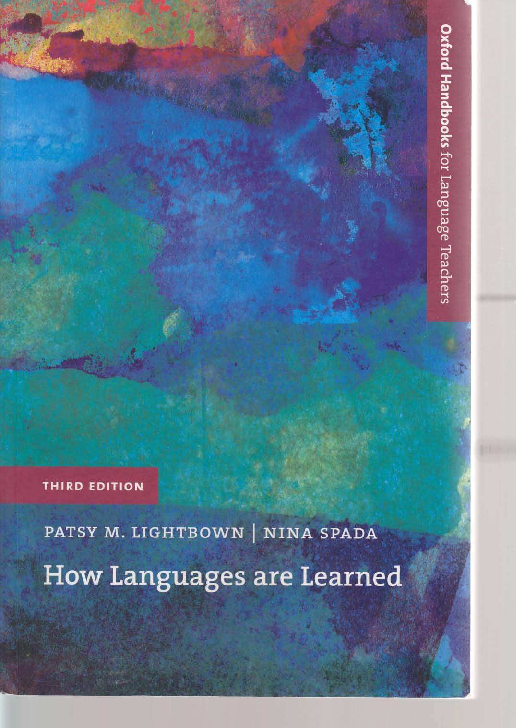 Pdf Teaching And Learning In The Language Classroom Sahana Giri Academia Edu