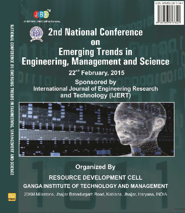 PDF) 2ND NATIONAL CONFERENCE ON EMERGING TRENDS IN ENGINEERING