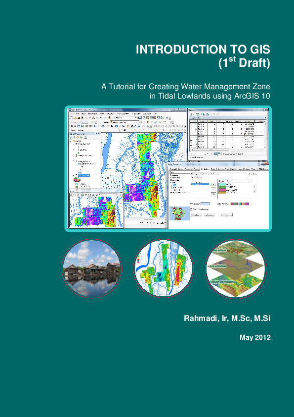 PDF) Introduction to GIS  A Tutorial for Creating Water Management