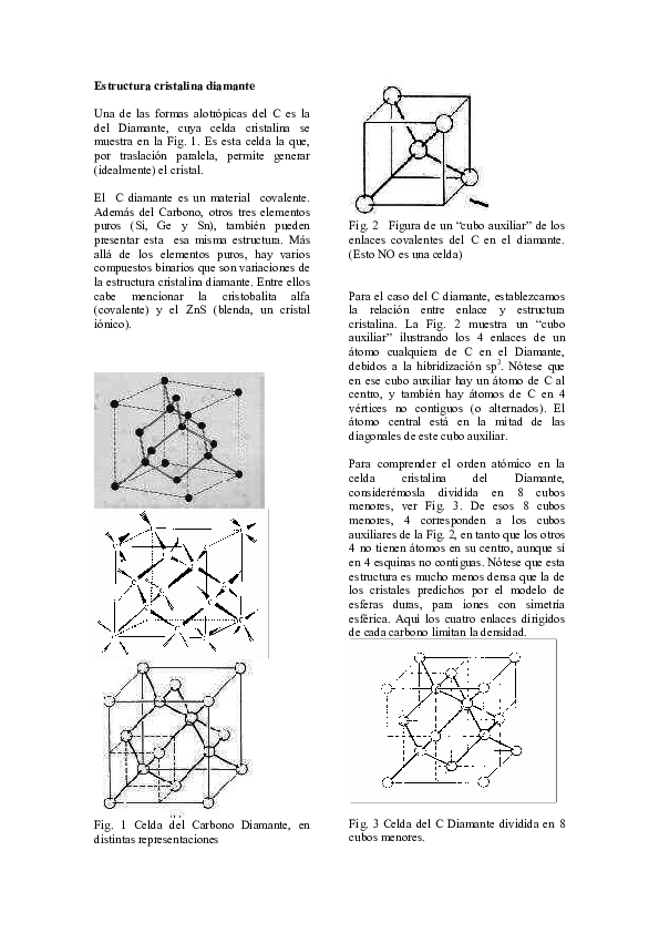 Pdf Estructura Cristalina Diamante Paola Vanegas