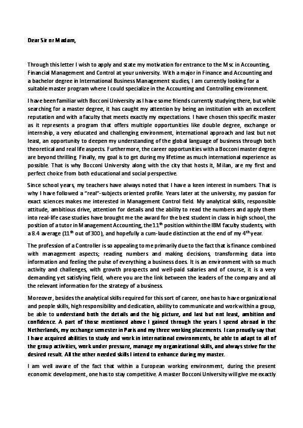 PDF) Dear Sir or Madam, Through this letter I wish to apply