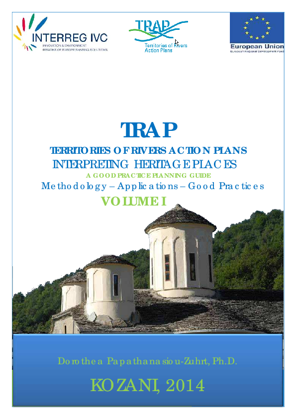 PDF) The TRAP Project (Territories of River Action Plans