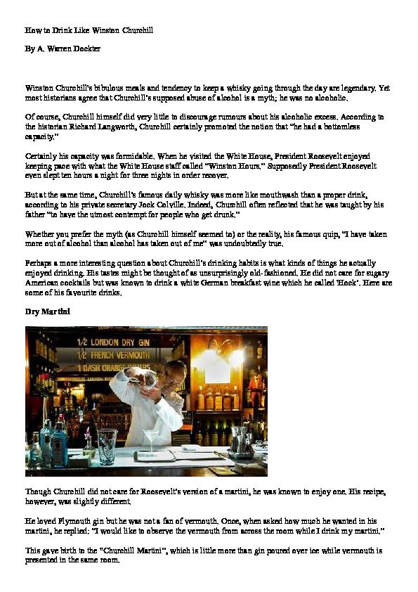 Churchills gin