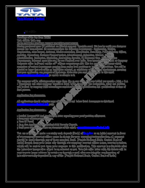 pdf  tata motors limited
