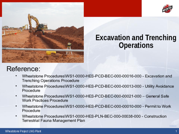 Ppt Excavation And Trenching L2 Cameron Tane Elbers Academia Edu