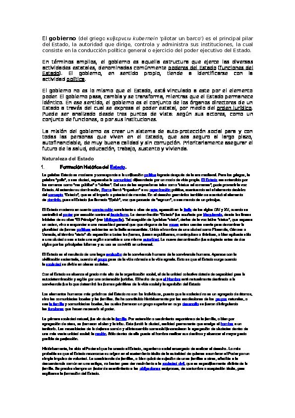 Doc El Estado Y Gobierno Finanza Publica Adelurden
