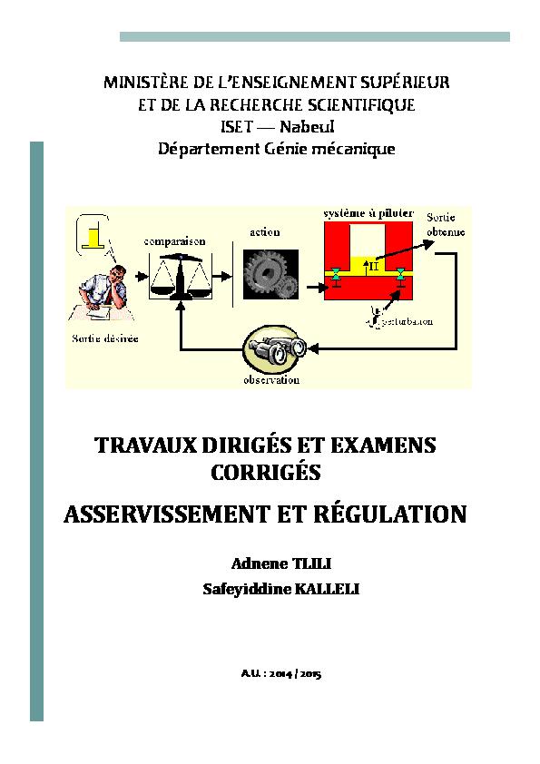 TD_corrigés_asservissement et régulation