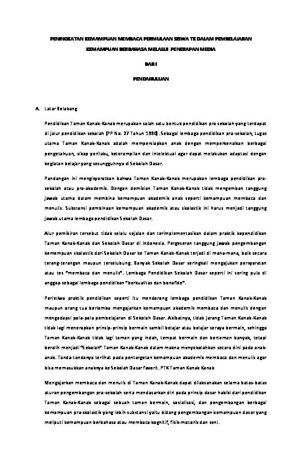 Contoh Ptk Matematika Kelas Vi