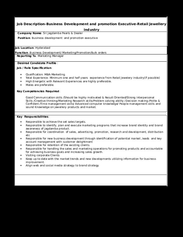 doc  job description