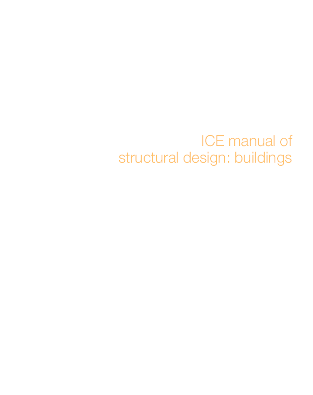 PDF) ICE manual of structural design: buildings | Erlet