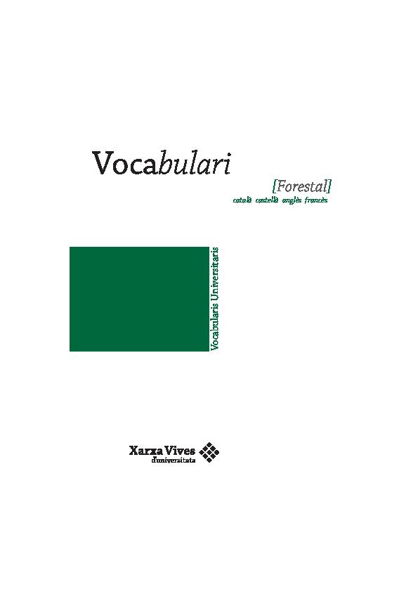 a597be8233 PDF) Vocabulari forestal   Adriana Gil Puig - Academia.edu