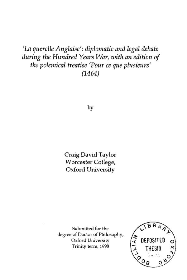 king avriel thesis rar