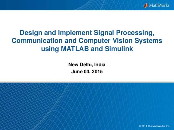 PDF) MATLAB Training |MATLAB Training in Delhi | Matlab
