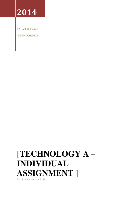 PDF) Building Technology 1 | Anhaf Ahmed - Academia edu