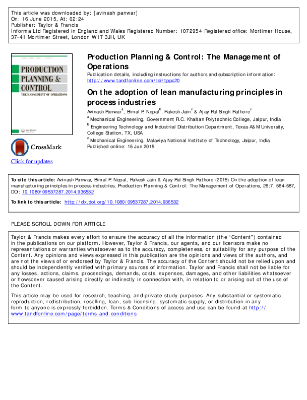 Production Planning And Control By Mukhopadhyay Pdf
