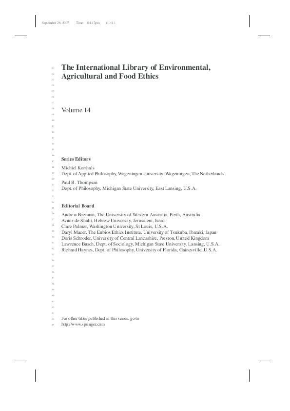 European Nature Conservation Policy Making Ewald Engelen Henny
