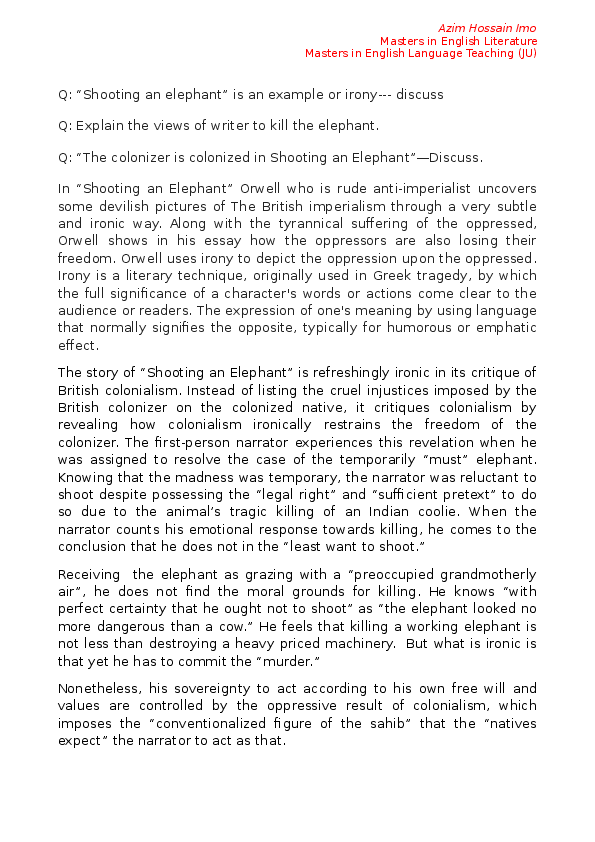 Soldiers obeying orders essay