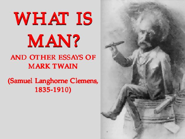 PDF Mark Twain