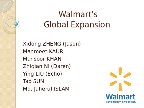 PPT) Walmart's | 牛 皮筋 - Academia edu