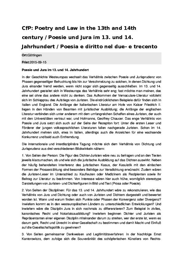 Doc Call For Papers Franziska Meier Academiaedu