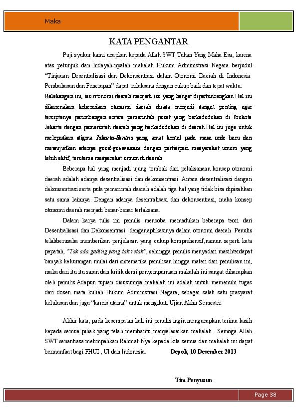 Doc Desentralisasi Dan Otonomi Daerah Rafli Fadilah Achmad Academia Edu