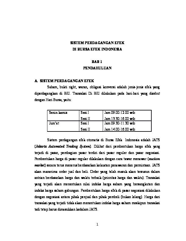 sistem perdagangan otomatis untuk dijual