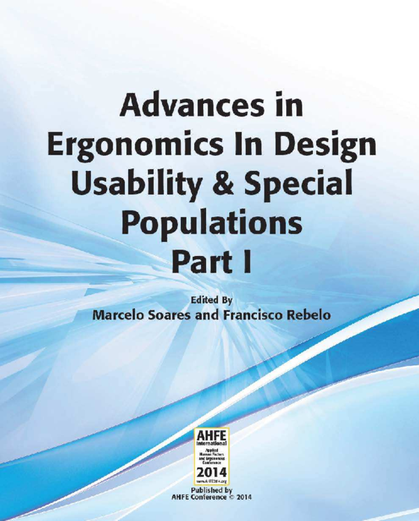 Pdf Advances In Ergonomics In Design Usability Special Populations Part I Marcelo M Soares Academia Edu
