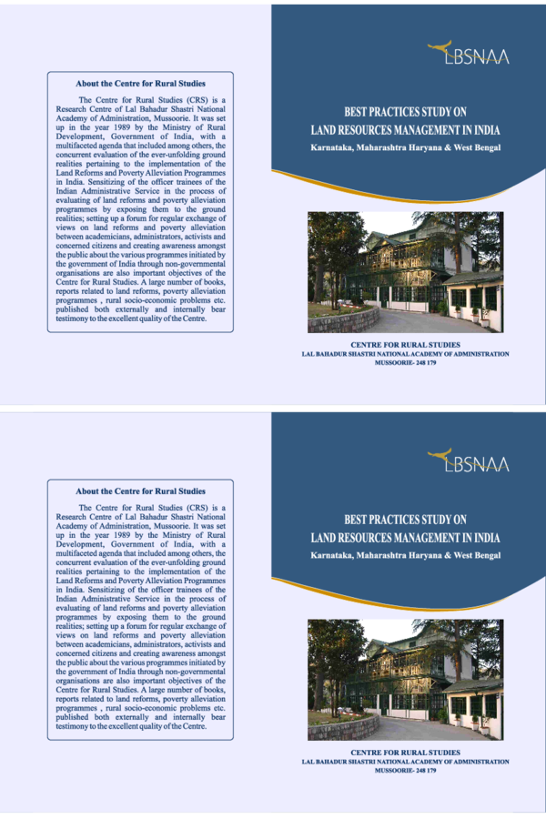 PDF) Integration of Bhoomi and Kaveri: A case study on Land